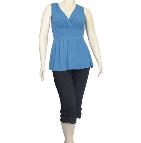 Handmade Clothing Company - the kobieta ruffled capris kobieta clothing company
