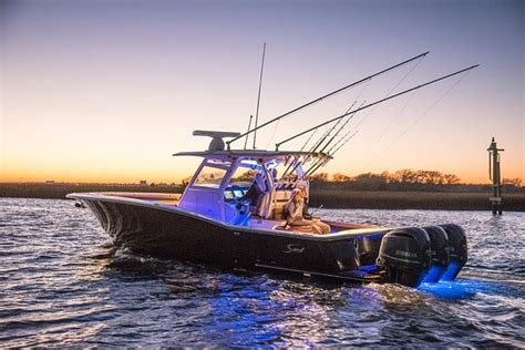 saltwater fishing boat accessories 25 great fishing boats of the decade sport fishing magazine