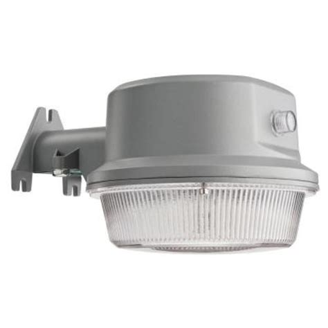 lithonia lighting grey led outdoor wall post mount area