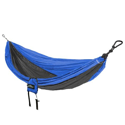 blue charcoal travel hammock castaway travel