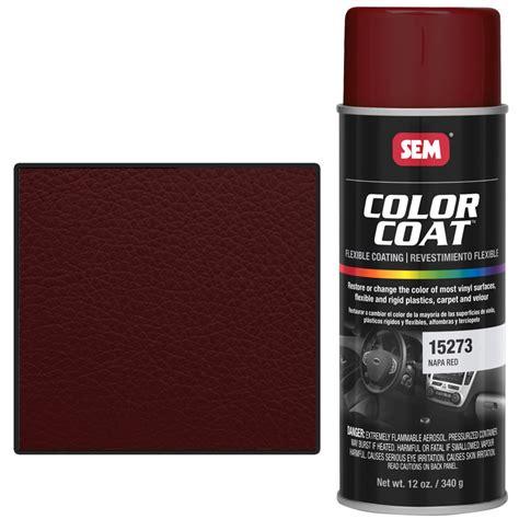 sem 15273 napa color coat vinyl paint