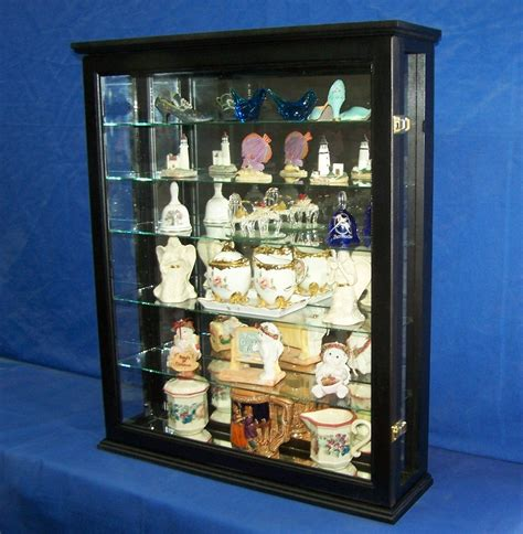 wall mounted curio cabinet cabinets cupboards