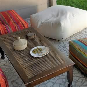 Floor Lounge Cushions H O C K Lounge Floor Cushion Outdoor Classic Uni Creme