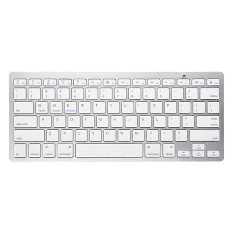 Keyboard Komputer Apple Wireless Bluetooth 3 0 Slim Keyboard For Ipad2 3 4 Iphone Mac Android Tablet Pc Ebay