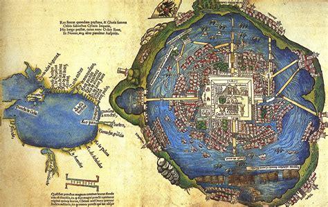 la ciudad desolada el un mapa de 1524 de la ciudad de m 233 xico
