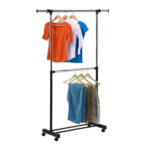 Garment Rack Walmart by Honey Can Do Dual Rod Expandable Garment Rack Walmart Ca