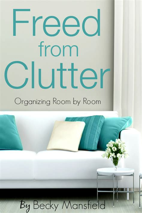 5 days to a clutter free house easy ways to clear up your space books free printable baby shower invitation easy peasy and
