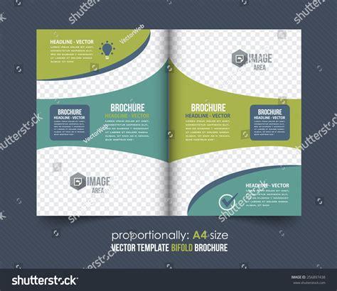 corporate bi fold brochure template business style bi fold brochure design corporate leaflet