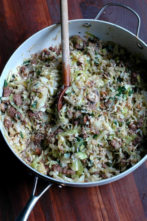 differnet ways to make ground beef versatile cabbage and beef skillet raising generation nourished