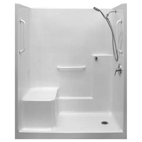 3 Inch Shower Drain by Ella Ultimate Wsa 33 In X 60 In X 77 In 1 Piece Low