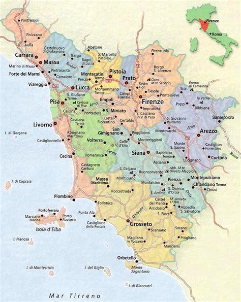 tuscany map tuscany map map of tuscany italy