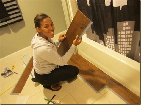 allure flooring in bathroom quick bathroom makeover so in love with traffic