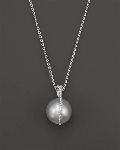 tara pearls 15 quot in silver white lyst