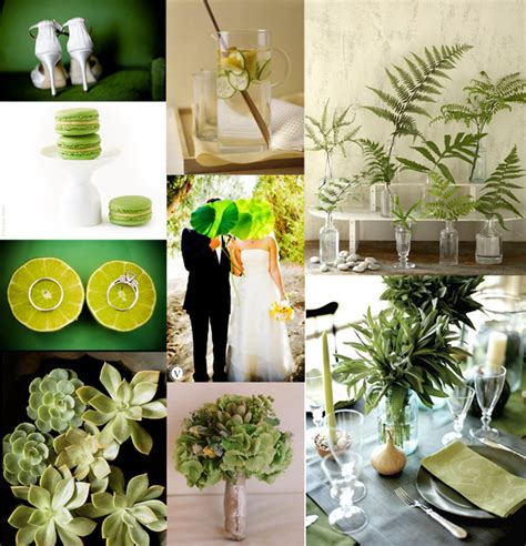 green decorations for home wedding d 233 cor theme wedding decorations wedding