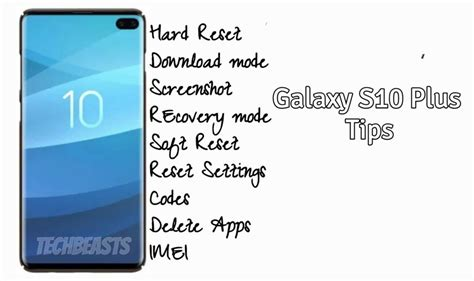 galaxy   tips screenshot  mode recovery safe clear cache  techbeasts