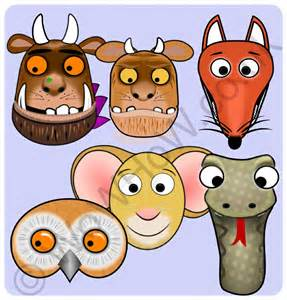 the gruffalo mask set wowhow