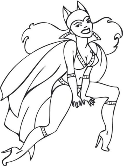 Batgirl Coloring Pages Bestofcoloring Com Pin Up Coloring Pages Printable