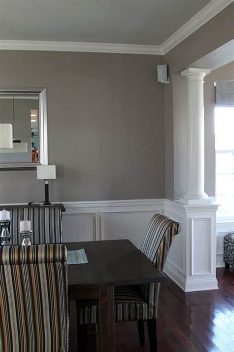 Wainscoting Colors by Wall Colors Columns And Dining Rooms On