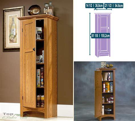 Kitchen pantry cabinet food storage organizer wood cupboard shelf home furniture ebay