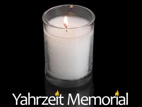 Prayer To Say When Lighting Yahrzeit Candle Lilianduval
