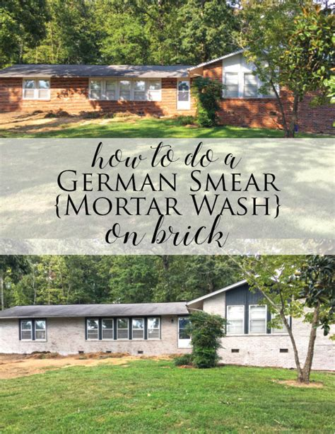 apply to fixer upper how to do a german smear mortar wash on brick dave and