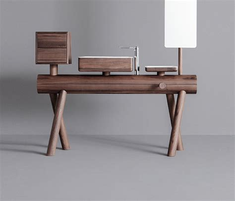 Stand Alone Vanity Dressage Stand Alone Vanity In Solid Wood Vanity Units From Graff Architonic