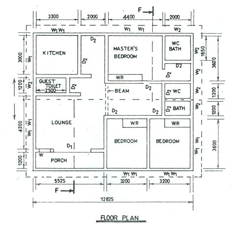 Housing Blueprints Floor Plans technical drawing paper 3 nov dec 2014