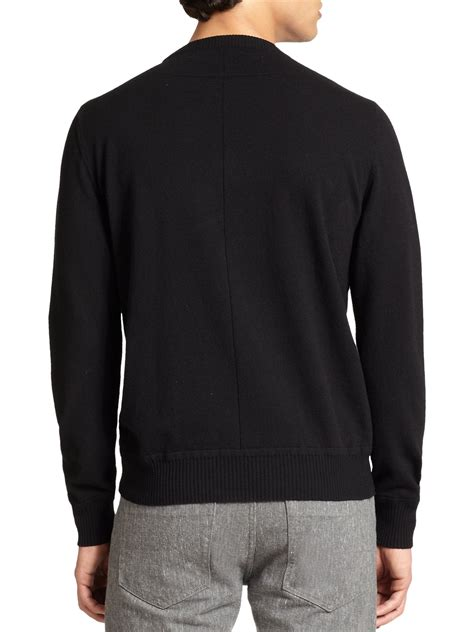 Givenchy Sweater givenchy rottweiler intarsia knit sweater in black for lyst