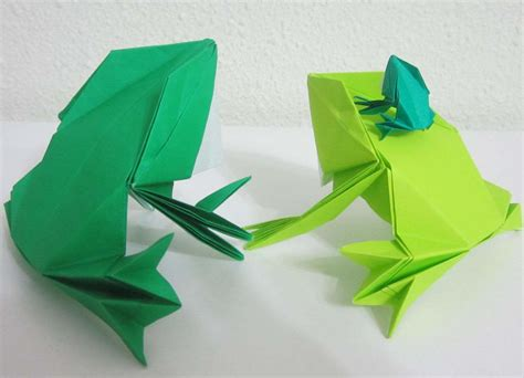 Origami For Frog - origami origami frog traditional model origami frog