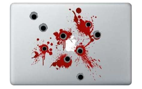 Bloody Bullet Stickers
