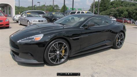Aston Martin Exhaust by 2014 Aston Martin Vanquish V12 Start Up Exhaust And In