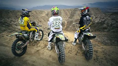 mx racing team rockstar bud racing kawasaki 2013 official youtube