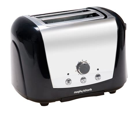 Accents Black 2 Slice Toaster   Toasters & Sandwich Toasters
