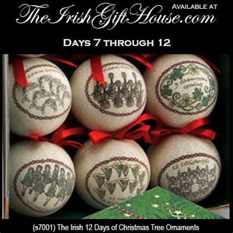 irish christmas ornaments 12 days of christmas