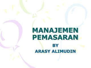 Manajemen Pemasaran Farmasi Surno 1 ppt manajemen pemasaran industri powerpoint presentation