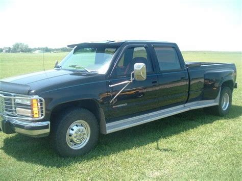where to buy car manuals 1993 gmc 3500 club coupe parking system sell used 1993 gmc sle crew cab dually in arkansas city kansas united states for us 6 750 00