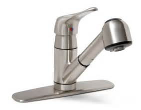 New Faucets by Kitchen Sonoma Lead Free Pull Out Kitchen Faucet Best