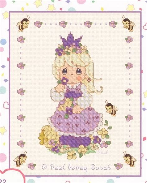 Cross Cleson 50 best cross stitch precious moments images on