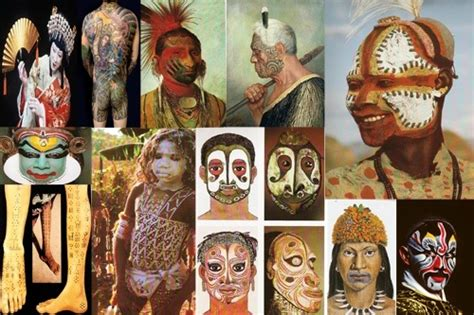 tattoo and body piercing history body painting versus tattoo tattoo designs piercing