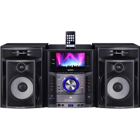 Mini Shelf Stereo System by Sony Lbt Lcd77di Mini Shelf System Lbt Lcd77di B H Photo