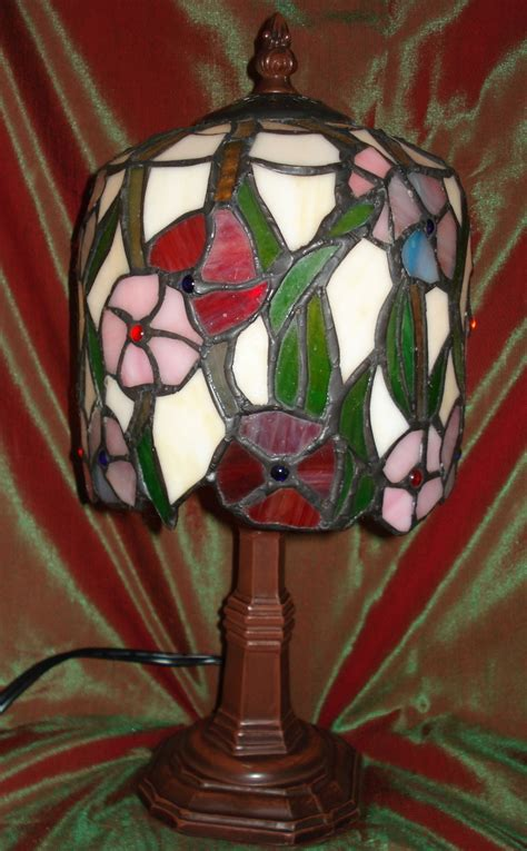 small night light small night light faux tiffany stained glass l ls