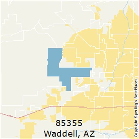 best places to live in waddell (zip 85355), arizona