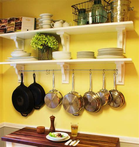 kitchen shelving  pot rack  copeandstick  etsy