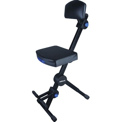 Musician Stool by Quiklok Adjustable Musicians Stool With Back And Dx 749 B H
