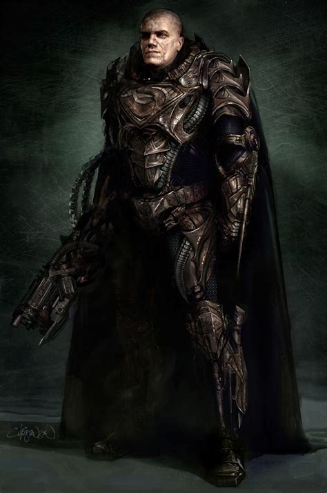 Dc 6inchko General Zod Of Steel General Zod Of Steel Concept By Keith Christensen