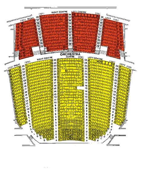 Orpheum Theatre Vancouver Seating Chart Brokeasshome Com | orpheum theatre vancouver seating chart brokeasshome com