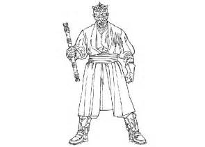 darth maul coloring page wars darth maul coloring pages
