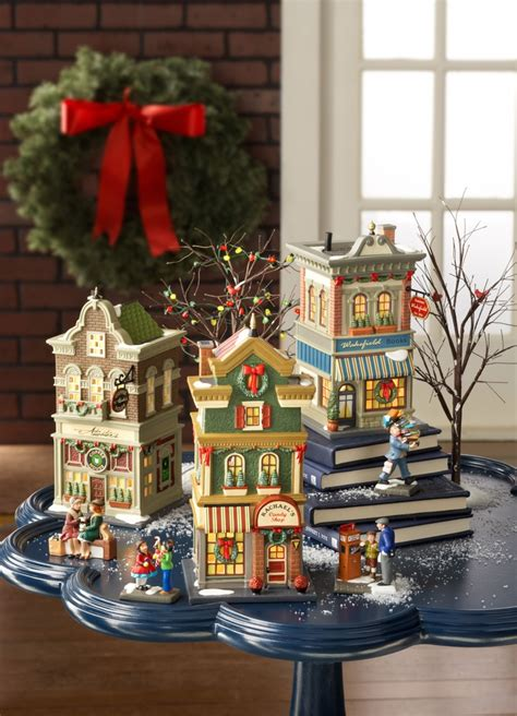 9 best images about department 56 christmas in the city on