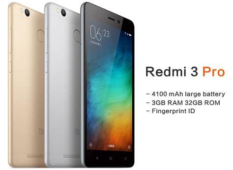 xiaomi redmi 3 pro 3gb ram 32gb rom with finger print sensor