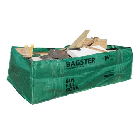 shopping bagster 3cuyd dumpster in a bag this review